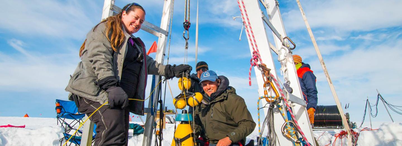 Schmidt studying Antarctica's oceans and ice