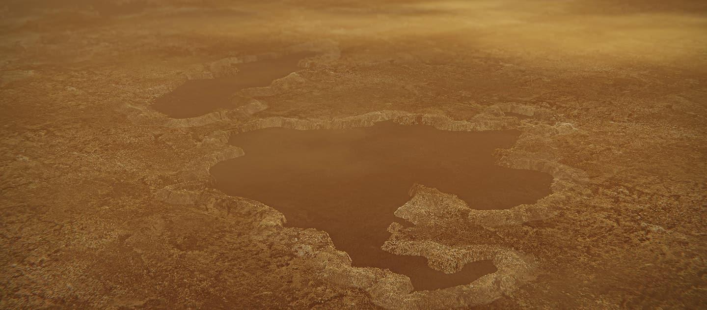 Titan lakes